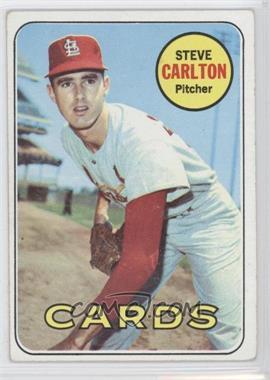 1969 Topps - [Base] #255 - Steve Carlton