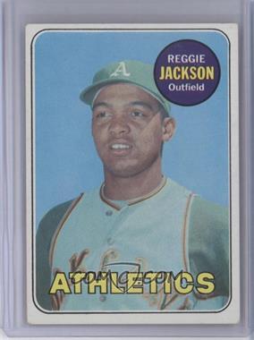 1969 Topps - [Base] #260 - Reggie Jackson