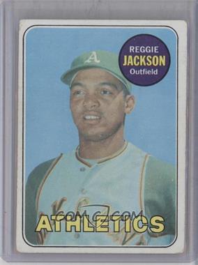 1969 Topps - [Base] #260 - Reggie Jackson [PoortoFair]