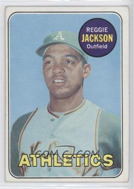 1969 Topps - [Base] #260 - Reggie Jackson [GoodtoVG‑EX]