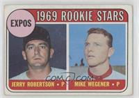 1969 Rookie Stars - Jerry Robertson, Mike Wegener [PoortoFair]