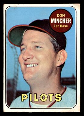 1969 Topps - [Base] #285 - Don Mincher [GOOD]