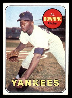 1969 Topps - [Base] #292 - Al Downing [VG]