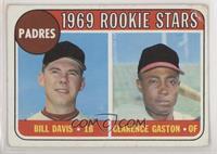 1969 Rookie Stars - Bill Davis, Cito Gaston [PoortoFair]