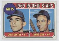 1969 Rookie Stars - Gary Gentry, Amos Otis [Good to VG‑EX]