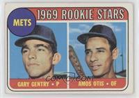 1969 Rookie Stars - Gary Gentry, Amos Otis [GoodtoVG‑EX]