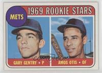Mets Rookie Stars (Gary Gentry, Amos Otis)