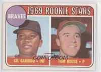 1969 Rookie Stars - Gil Garrido, Tom House