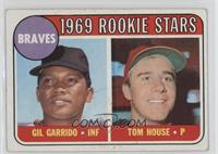 1969 Rookie Stars - Gil Garrido, Tom House [GoodtoVG‑EX]