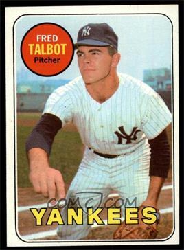 1969 Topps - [Base] #332 - Fred Talbot [NM]