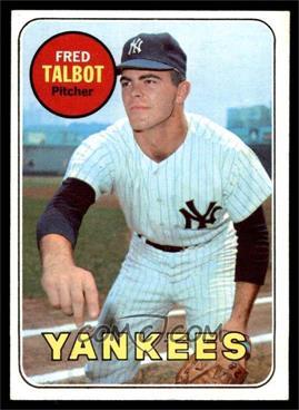 1969 Topps - [Base] #332 - Fred Talbot [EXMT]