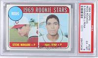Reds Rookie Stars (Steve Mingori, Jose Pena) [PSA6]