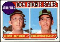 1969 Rookie Stars - George Lauzerique, Roberto Rodriguez [VGEX]