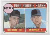 1969 Rookie Stars - Mike Fiore, Jim Rooker [Good to VG‑EX]