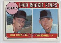 1969 Rookie Stars - Mike Fiore, Jim Rooker