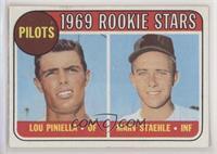 1969 Rookie Stars - Lou Piniella, Marv Staehle [PoortoFair]