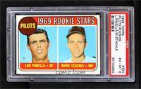 1969 Rookie Stars - Lou Piniella, Marv Staehle [PSA6EX‑MT]