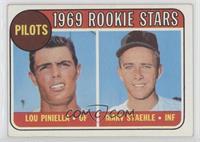 1969 Rookie Stars - Lou Piniella, Marv Staehle