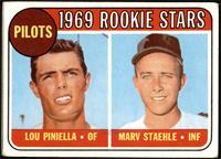 1969 Rookie Stars - Lou Piniella, Marv Staehle [GOOD]