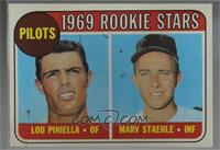 Lou Piniella, Marv Staehle [Poor to Fair]