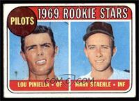 Lou Piniella, Marv Staehle [GOOD]