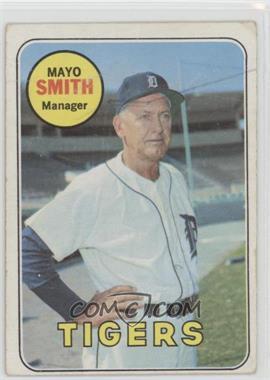 1969 Topps - [Base] #40 - Mayo Smith [Poor]
