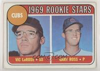 1969 Rookie Stars - Vic Larose, Gary Ross [Good to VG‑EX]