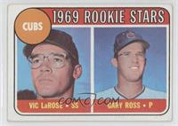 1969 Rookie Stars - Vic Larose, Gary Ross [GoodtoVG‑EX]