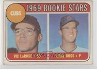 1969 Rookie Stars - Vic Larose, Gary Ross [Poor to Fair]