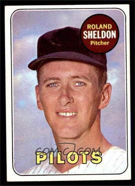 1969 Topps - [Base] #413 - Roland Sheldon [EXMT]