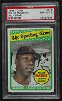 The Sporting News All Star Selection - Willie McCovey [PSA8NM‑…