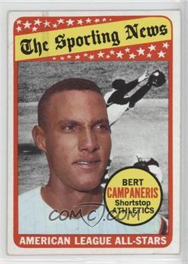 1969 Topps - [Base] #423 - The Sporting News All Star Selection - Bert Campaneris