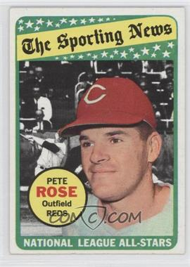 1969 Topps - [Base] #424 - Pete Rose
