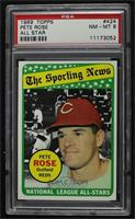 The Sporting News All Star Selection - Pete Rose [PSA8NM‑MT]