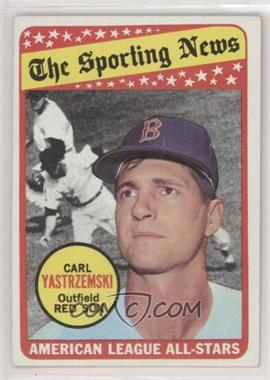 1969 Topps - [Base] #425 - The Sporting News All Star Selection - Carl Yastrzemski