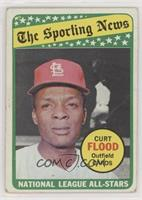 The Sporting News All Star Selection - Curt Flood [Poor to Fair]