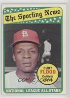 The Sporting News All Star Selection - Curt Flood