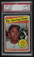 The Sporting News All Star Selection - Tony Oliva [PSA8NM‑MT]