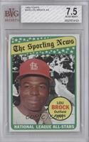 The Sporting News All Star Selection - Lou Brock [BVG 7.5 NEAR M…