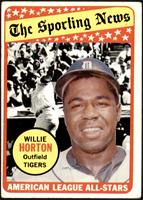 The Sporting News All Star Selection - Willie Horton [GOOD]