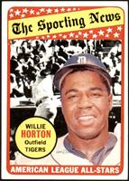 The Sporting News All Star Selection - Willie Horton [VG EX+]