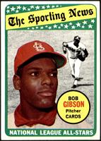 The Sporting News All Star Selection - Bob Gibson [EXMT+]