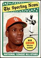 The Sporting News All Star Selection - Bob Gibson [VGEX+]