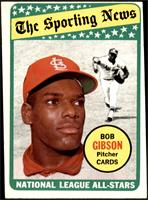 The Sporting News All Star Selection - Bob Gibson [EX]