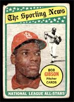 The Sporting News All Star Selection - Bob Gibson [POOR]