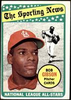 The Sporting News All Star Selection - Bob Gibson [GOOD]