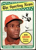 The Sporting News All Star Selection - Bob Gibson [FAIR]
