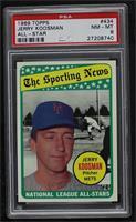 The Sporting News All Star Selection - Jerry Koosman [PSA8NM‑…