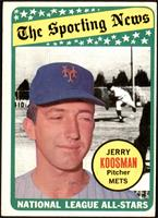 The Sporting News All Star Selection - Jerry Koosman [VG EX]