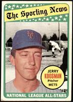 The Sporting News All Star Selection - Jerry Koosman [VG+]
